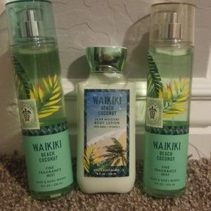 Bath & Body Works Waikiki beach coconut
